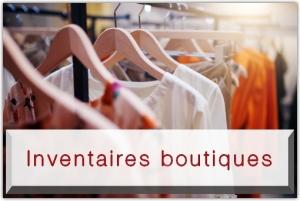Inventaire boutique