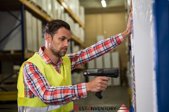 Scanning inventaire entrepôt Best Inventory